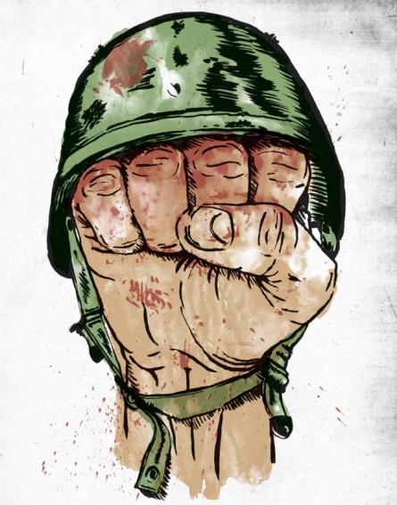 Bloody Fist logo reworking by William Flegal